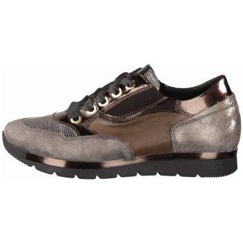 Schuhe Damen Sneaker Low Dl-Sport Schnuerschuhe 3312-Version B grau