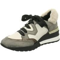 Schuhe Damen Sneaker Low Dl-Sport Schnuerschuhe 4109 01 glitter beige