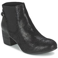 Schuhe Damen Low Boots SPM GIRAFE Schwarz