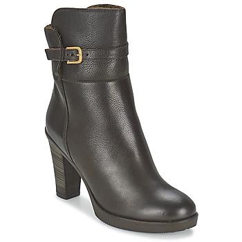 Schuhe Damen Low Boots Fred de la Bretoniere COEVORDEN Braun