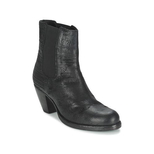 Fred de la Bretoniere ALMERE Schwarz Schuhe Low Boots Damen 135