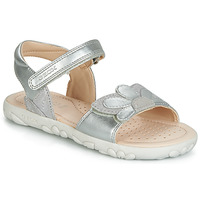 Schuhe Mädchen Sandalen / Sandaletten Geox HAHITI Silber