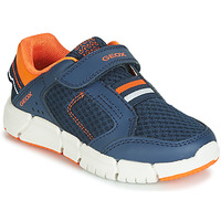 Schuhe Jungen Sneaker Low Geox FLEXYPER Navy
