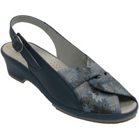 Schuhe Damen Sandalen / Sandaletten Made In Spain 1940 Sehr bequeme Damensandalen Lumel blau Blau