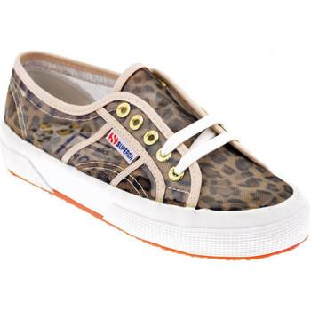 Schuhe Damen Sneaker Low Superga 2750 Animal turnschuhe