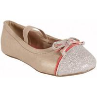 Schuhe Mädchen Ballerinas Flower Girl 220802-B4600 Beige