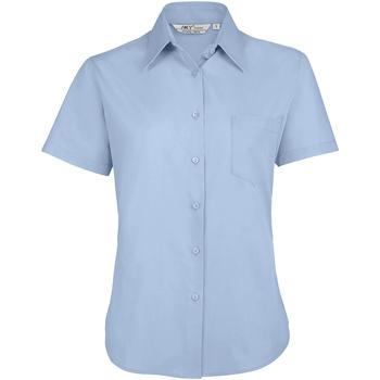 Kleidung Damen Hemden Sols ESCAPE POPELIN WOMEN Azul