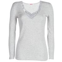 Unterwäsche Damen Unterhemden Damart FANCY KNIT GRADE 4 Grau