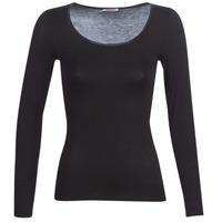 Unterwäsche Damen Unterhemden Damart MICROFIBRE GRADE 2 Schwarz