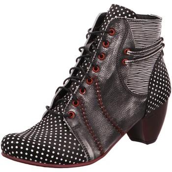 Schuhe Damen Low Boots Simen Stiefeletten 09688-304/656/651 GRAU bunt