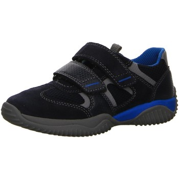 Schuhe Jungen Sneaker Low Superfit Klettschuhe Klettverschluss/Slipper Halbschuh Storm 8-09380-80 blau