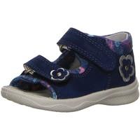 Schuhe Mädchen Sandalen / Sandaletten Superfit Maedchen Polly,BLAU 4-00095-80 blau
