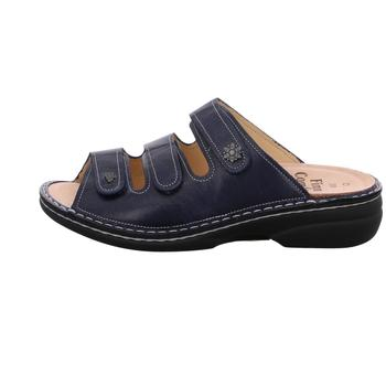Schuhe Damen Sandalen / Sandaletten Finn Comfort Pantoletten blau