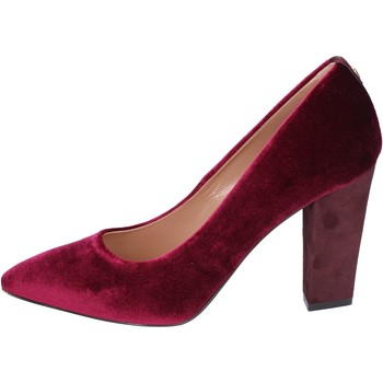 Schuhe Damen Pumps Twin Set pumps samt burgund