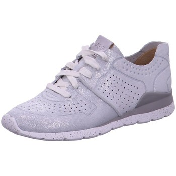 Schuhe Damen Sneaker Low UGG Schnuerschuhe 1019058 SILVER grau