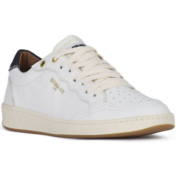 Schuhe Herren Sneaker Low Blauer MURRAY WHITE Bianco