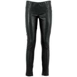Kleidung Damen Leggings Café Noir CAF-RRR-JP265-010 Nero