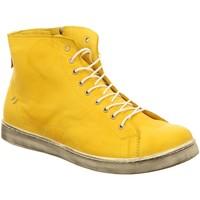 Schuhe Damen Sneaker High Andrea Conti SHOES 0341500051 gelb