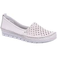 Schuhe Damen Slipper Gemini Slipper 3128-01 001 weiß