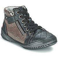 Schuhe Mädchen Boots GBB LEONIA Grau / Silbern