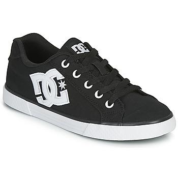 Schuhe Damen Skaterschuhe DC Shoes CHELSEA TX Schwarz / Weiss