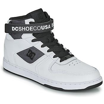 Schuhe Herren Sneaker High DC Shoes PENSFORD SE Weiss / Schwarz