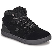 Schuhe Kinder Sneaker High DC Shoes CRISIS HIGH WNT Schwarz
