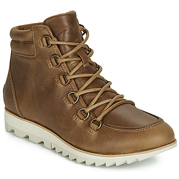 Schuhe Damen Boots Sorel HARLOW LACE Cognac