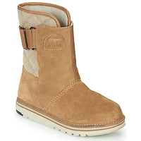 Schuhe Damen Boots Sorel NEWBIE Honig