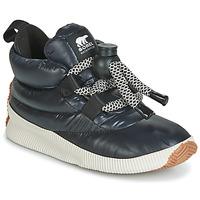 Schuhe Damen Boots Sorel OUT N ABOUT PUFFY LACE Schwarz