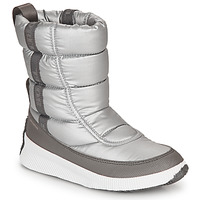 Schuhe Damen Schneestiefel Sorel OUT N ABOUT PUFFY MID Grau