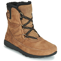 Schuhe Damen Boots Sorel WHITNEY SHORT LACE PREMIUM Camel