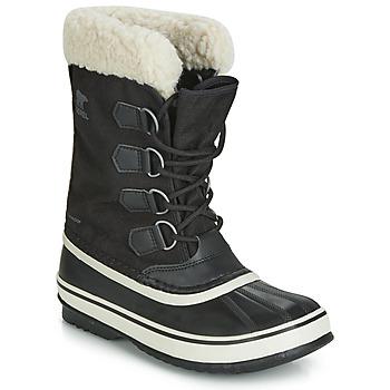Schuhe Damen Schneestiefel Sorel WINTER CARNIVAL Schwarz