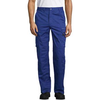 Kleidung Cargo Hosen Sols ACTIVE PRO WORKS Azul