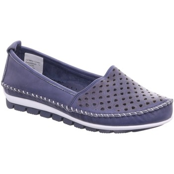 Schuhe Damen Slipper Gemini Slipper 003128-01/802 blau