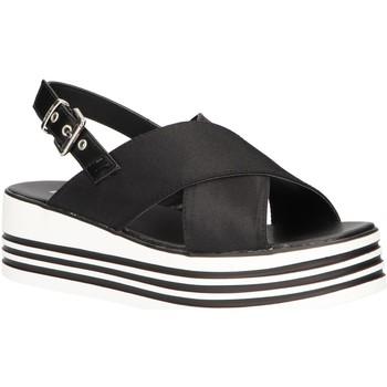 Schuhe Damen Sandalen / Sandaletten MTNG 57820 Negro