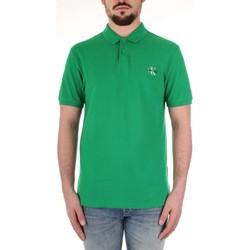 Kleidung Herren Polohemden Calvin Klein Jeans J30J312323 grün