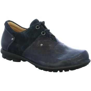 Schuhe Herren Derby-Schuhe Think Schnuerschuhe KONG HE 02 84651-82 blau