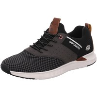 Schuhe Herren Sneaker Low Dockers by Gerli Slipper Halbschuh 44BC003-780100 schwarz
