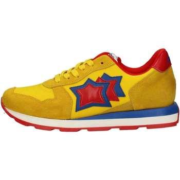 Schuhe Jungen Sneaker Low Atlantic Stars LYNX-SGR-19 YELLOW