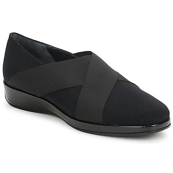 Schuhe Damen Slipper Amalfi by Rangoni PRETTY Schwarz