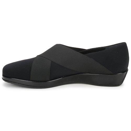 Amalfi by Rangoni PRETTY Schwarz  Schuhe Slipper Damen Damen Damen 72,50 c2bd5a