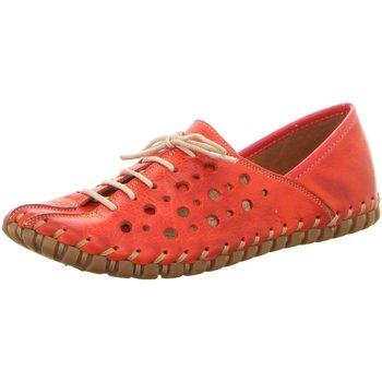 Schuhe Damen Derby-Schuhe Gemini Schnuerschuhe ANILINA SCHNUERSCHUH 031210-02/005 005 rot