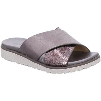 Schuhe Damen Pantoletten Xti Pantoletten Pantolette,PLUMP 47941-9.3 silber