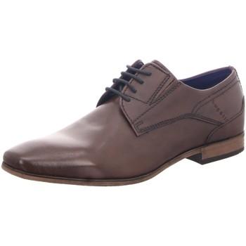Schuhe Herren Derby-Schuhe & Richelieu Bugatti Business Lari,dark brown 313141031000-6100 braun