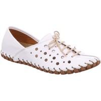 Schuhe Damen Derby-Schuhe & Richelieu Gemini Schnuerschuhe weiss 031210-02-001 weiß
