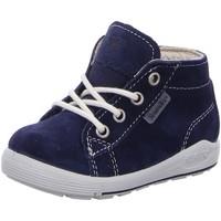Schuhe Jungen Babyschuhe Ricosta Schnuerschuhe 2422000-170-Zayni blau