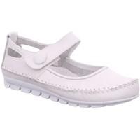 Schuhe Damen Ballerinas Gemini Slipper 003121-01/001 weiß