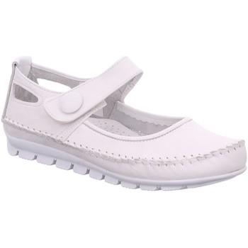 Schuhe Damen Ballerinas Gemini Slipper 3121-01-001 weiß