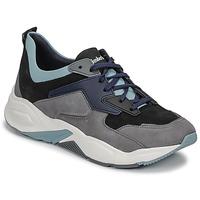 Schuhe Damen Sneaker Low Timberland DELPHIVILLE LEATHER SNEAK Schwarz